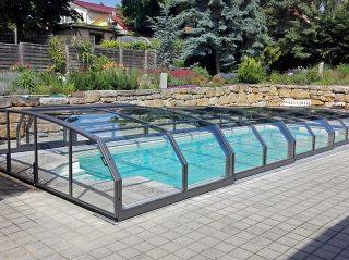 Acoperire de mica inaltime pentru piscina Oceanic Low