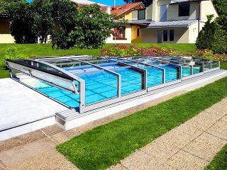 Acoperire de mica inaltime pentru piscina Viva