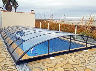 Acoperire de piscină Azure Flat