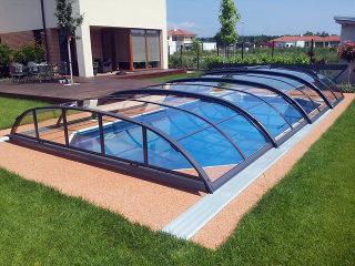 Acoperire de piscină Elegant