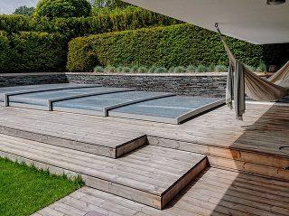Acoperire joasă de piscină Terra