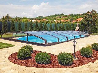 Acoperire piscina Azure Angle design deosebit