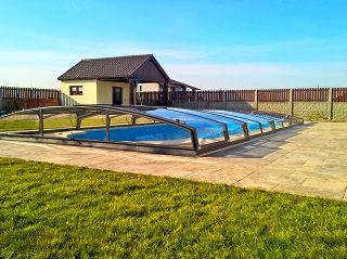 Acoperire piscina AZURE Angle