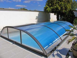 Acoperire  piscina Azure Flat