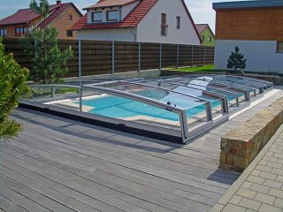 Acoperire piscina Corona