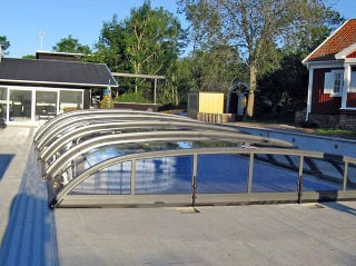 Acoperire piscina  ELEGANT - solutia perfecta