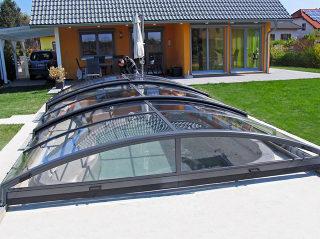 Acoperire piscina  IMPERIA NEO light produsa de Alukov