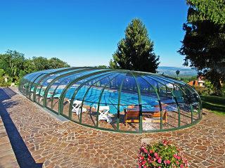 Acoperire piscina OLYMPIC de la Alukov