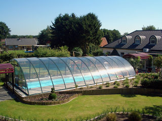 Acoperire piscina RAVENA potrivita pentru orice piscina