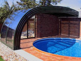 Acoperire terasa STYLE este si acoperire de piscina