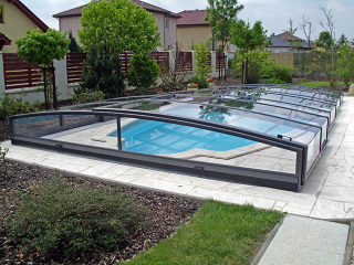 Acoperire piscina  VIVA culoare antracit