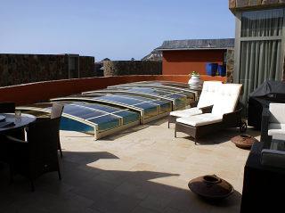 Acoperire piscina  VIVA in alb