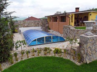 Acoperire retractabila pentru piscina Elegant NEO
