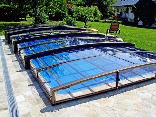 Acoperire retractabila pentru piscina Viva