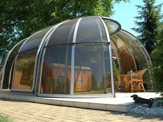 Acoperire retractabila de jacuzzi SPA SUNHOUSE