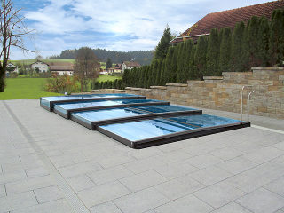 Cea mai joasă acoperire de piscină Terra