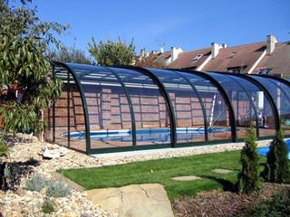 Markbaserat Pooltak STYLE allågs din till use din pool från spring till autumn