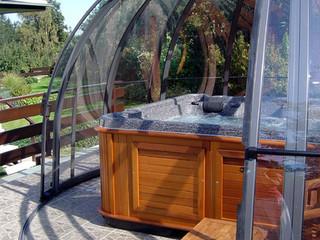 SPA DOME ORLANDO - tak till ditt spa för värme och skydd