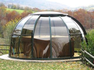 tak till ditt spa - SPA DOME ORLANDO - en del av trädgården