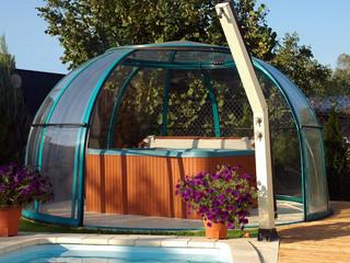 SPA DOME ORLANDO - det öppningsbara taket till ditt spa