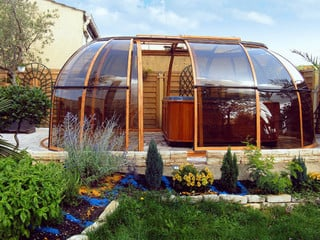SPA SUNHOUSE - tak till ditt spa ger värme och skydd