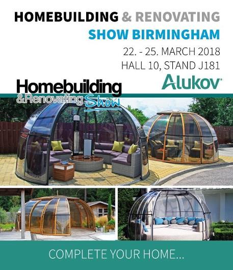 Homebuilding Renovating: Alukov UK Is Exhibiting At Homebuilding & Renovating Show