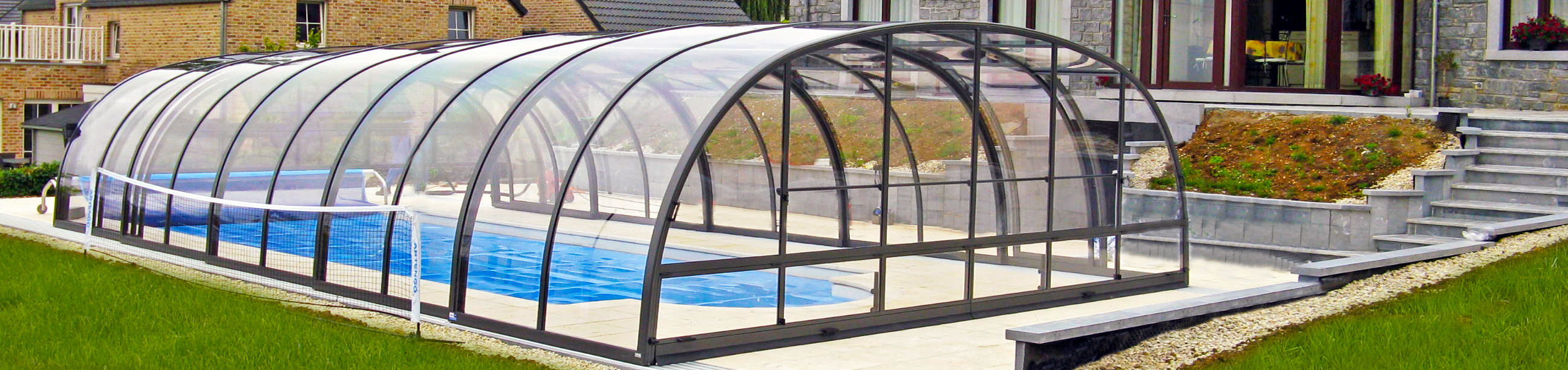 High Pool Enclosures from Alukov