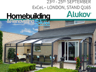 Alukov UK is exhibiting at Homebuilding & Renovating Show - London 2016