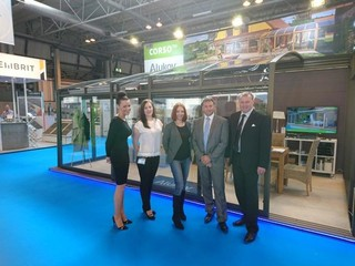 Alukov UK Team for Build and Renovating show in London