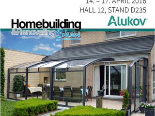 Home and renovating show Birmingham 2016 - Alukov is attending