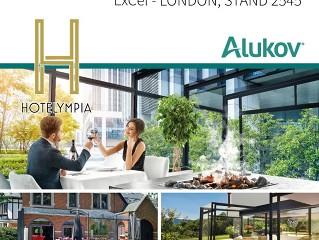 ALUKOV UK exhibiting at HOTELYMPIA 2018