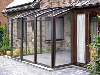 Inside space of patio enclosure CORSO