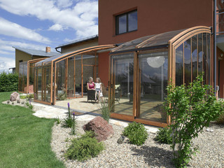 Patio enclosure CORSO - ideal place for your family time