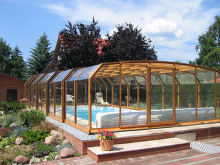 Pool enclosure OCEANIC will become heart of your garden