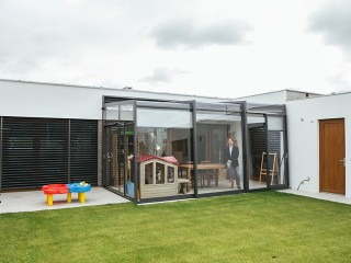 Retractable patio enclosure Corso Ultima