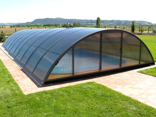 Pool enclosure UNIVERSE NEO by Alukov a.s.
