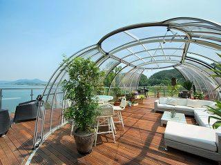 Spa enclosure Grand Sunhouse