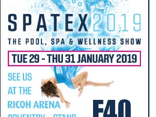 Spatex 2019, Ericsson Exhibition Hall, Ricoh Arena, Coventry, CV6 6GE