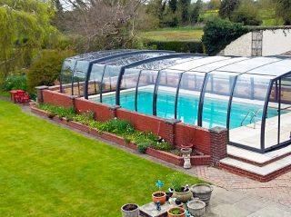 Swimming pool enclosure Omega