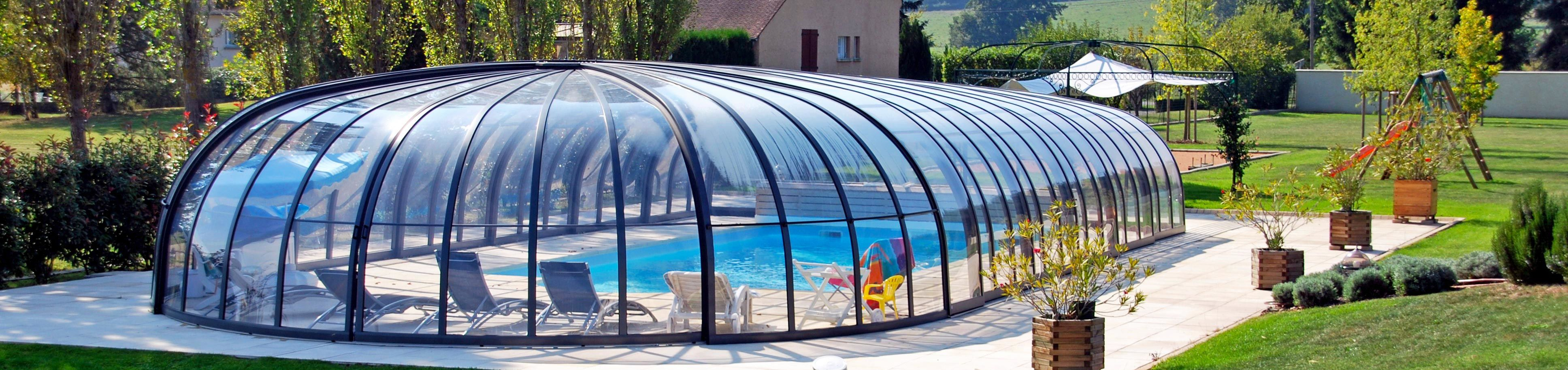 Retractable swimming pool enclosure olympic sunrooms Retractable swimming pool enclosures