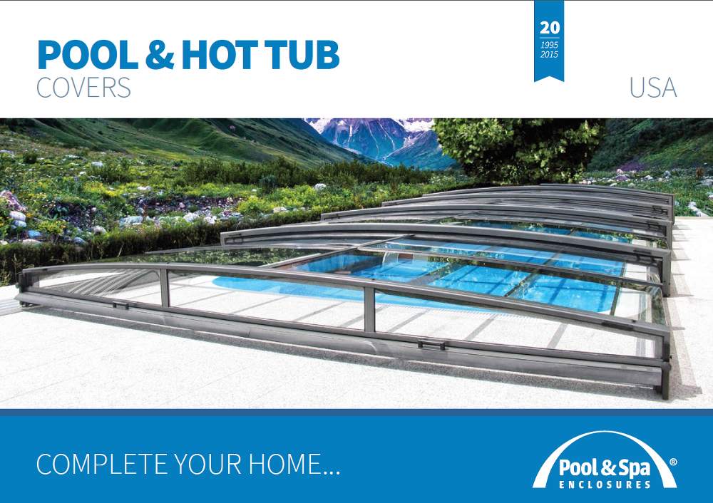 Catalogue of swimming pool enclosures for download