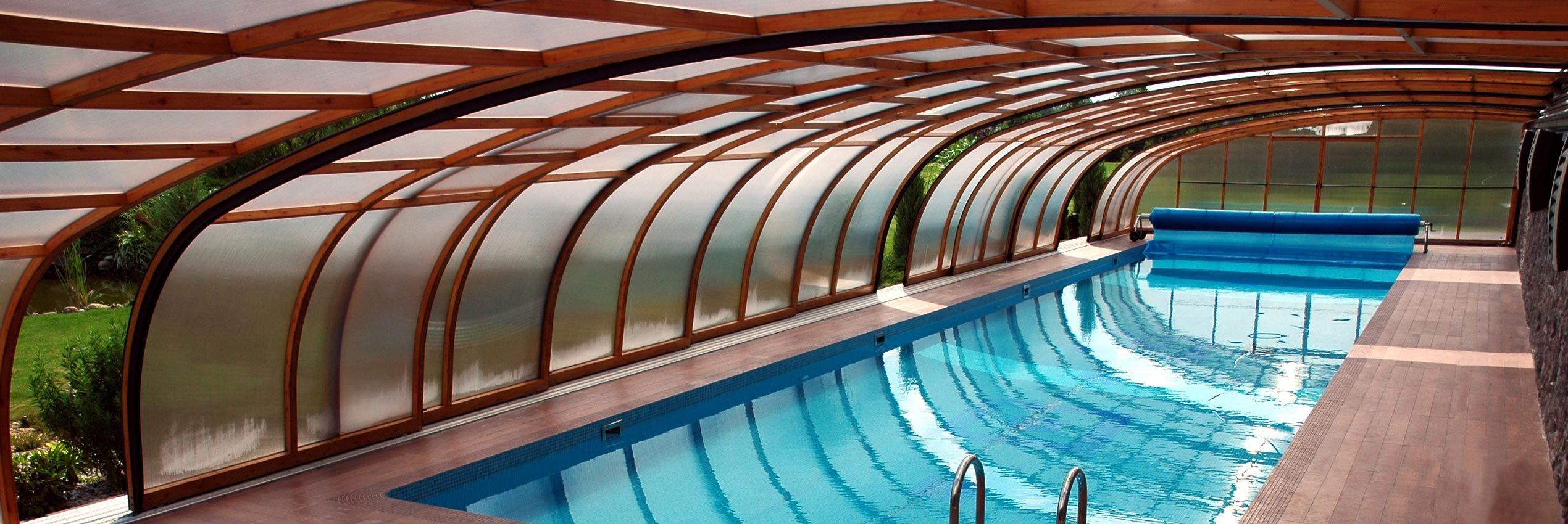 High Line Retractable Pool Enclosures And Pool Covers Sunrooms Enclosures Com