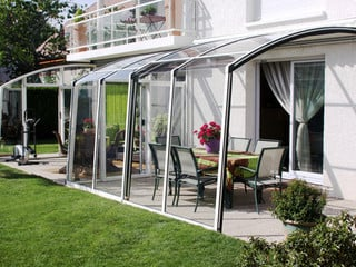 A patio used the best way - with patio enclosure