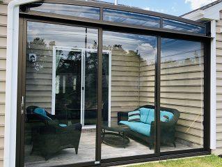 Atypical patio enclosure Corso