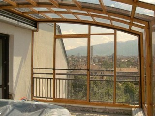 Balcony enclosure CORSO Premium is the best sunroom idea for your appartment