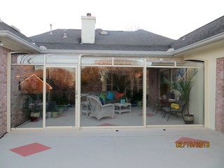 Closed Patio Enclosure   Sunroom CORSO Premium