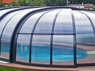 Closed pool enclosure Olympic