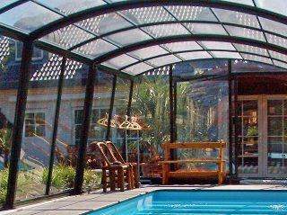 Closed pool enclosure Ravena