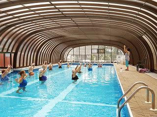Commercial swimming pool enclosure Laguna