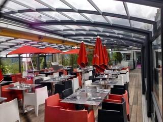 CORSO patio enclosure for Hotel dining room